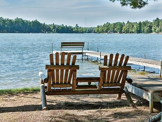 Cottage  10 - Hiller's Pine Haven - Little Saint Germain Lake - Free WIFI