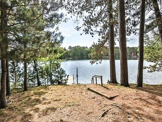 Seven Pines - Lakefront cottage on West Bay of Little Saint Germain Lake