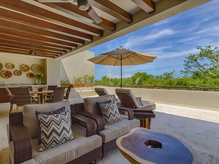 Sophisticated Living in Punta Mita,  Beach Club +Premium Resort Member, AC, Free