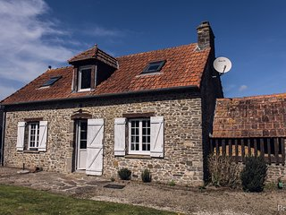 La Boulangerie, country cottage near beach