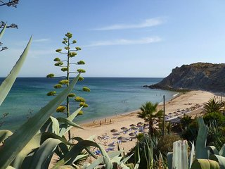 5* Best beach apartment sea views quiet area   sleeps 4 Burgau Lagos W Algarve
