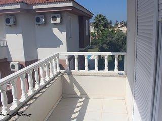 luxury villa next to beach