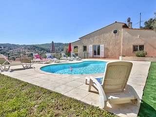 Superbe villa avec piscine Vallauris