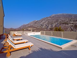 New! VILLA REMUŠIĆ - 24sqm private pool, whirlpool, 4 bedrooms and amazing view