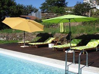 Bela casa con piscina privada, Internet, TV SAT