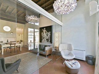 Paradiso - Two-bedroom apartment overlooking Santa Croce cathedral in Florence