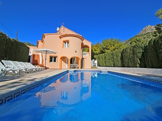 6 bedroom Villa in Calpe, Valencia, Spain : ref 5487631