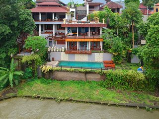 Little Ubud River View Seroja Villa 15 pax