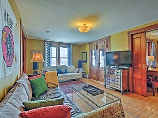 NEW! Historic Mt. Philo Suite w/ Lake Views & Park