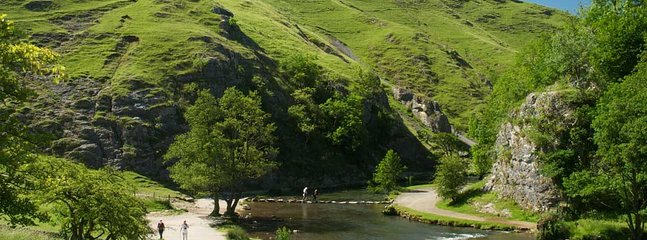 Just a short drive to Dovedale