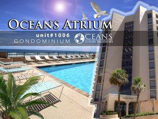 Oct Specials! Oceans Atrium Condo - Ocean View - 2BR/2BA #1006
