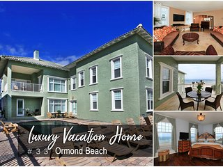 Luxury Vacation Home – Direct Oceanfront – With Pool - 8BR/8.5BA - #33