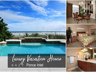 Oct Specials! 'Beach Haven' - Oceanfront Pool Home -  4BR/4.5BA