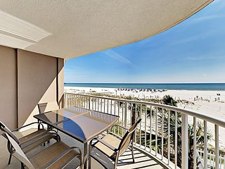 Beachfront Royal Palms 2BR w/ Epic Gulf Views – Heated Pools, Hot Tub & Sauna