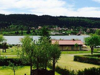 Duplex vue sur lac St Point à 15 min de Métabief et de Pontarlier JURA