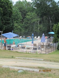 Full access to community pool
