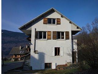 Massif des Bauges / Village typique /  Chambery 10 km / 4* !