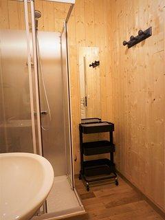 Salle d'eau avec douche / lavabo / WC
