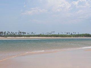 Linda casa de praia no Litoral Norte da Bahia.