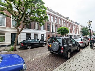 363 m from the center of The Hague with Internet, Terrace, Garden, Balcony (5031