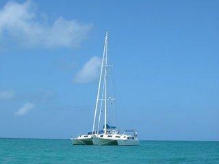 Trimaran croisière aux îles san blas
