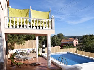 Beautiful Villa in mountains with pool. Walking/Climbing/City/Beach Holidays