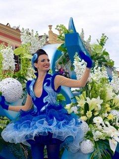 Corso et bataille de fleurs à Nice