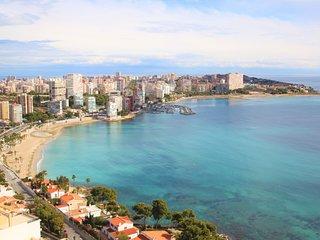 Apartamento en Urb.Monte y Mar en Albufereta con vistas al mar