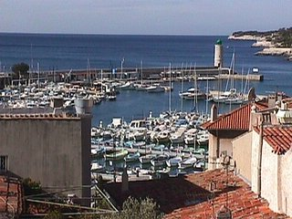 Appartement vue mer, port, avec parking