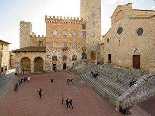 Panoramic Studio in the historic center of San Gimignano