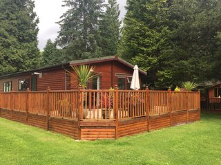 Happy Days Lodge at White Cross Bay Holiday Park & Marina