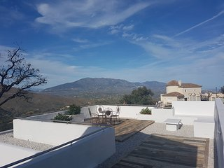 one of two roof terraces