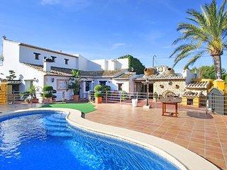 Villa La Palmera en Benissa,Alicante,para 6 huespedes