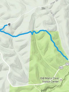 Hike the Buckeye Trail to Old Man's Cave