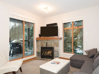 WHISTLER VILLAGE Spacious 2 BR Home, sleeps 6, free parking, minutes to lifts!