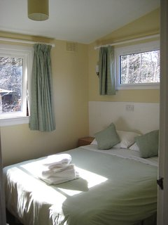 Double room with king sized bed