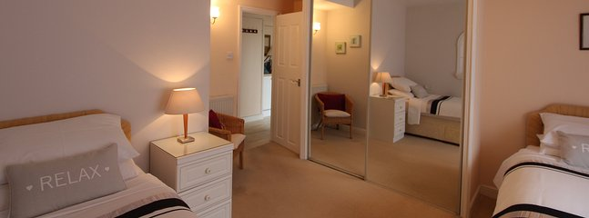 Ample wardrobe space