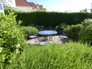 Outside seating for all guests but Clematis also has a private garden area at the rear