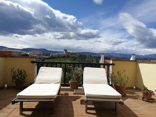 Apartamento con ampliada terraza soleada