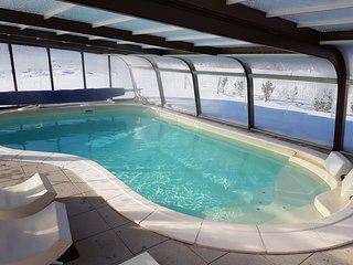 Chalet Roseneige Avec piscine chauffee toute l'annee, SPA, Sauna 15 pers