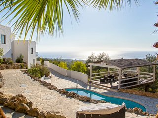 5 bedroom Villa in Es Cubells, Balearic Islands, Spain : ref 5049321
