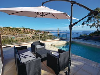 4 bedroom Villa in Theoule-sur-Mer, Provence-Alpes-Cote d'Azur, France : ref 555