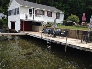 WATER FRONT HOME BOAT HOUSE LG DOCK BOAT SLIPS TOO