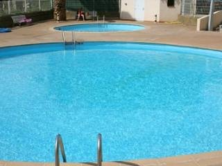 Shared swimming pools - unheated open June to end of September.