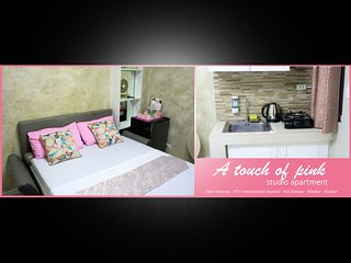 A touch of Pink - Studio apartment near pristine beach - Fiber Internet 5Ombps