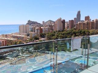 Maravilloso apartamento despejado vista mar