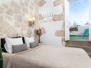 Terrace Azahara · Casa San Marcial - SOUTH TERRACE APARTMENT in old town of Las