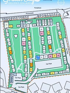 Map of the Site. Number 90 is highlighted in blue