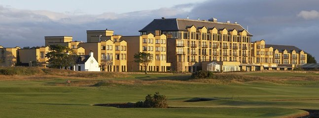 The idyllic Old Course Hotel