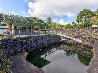 Welcome to Kapoho Laniakea - Sleeps 6, With a Swimmable Warm Pond!